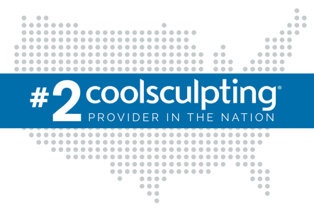 #2 CoolSculpting Provider In The Nation.
