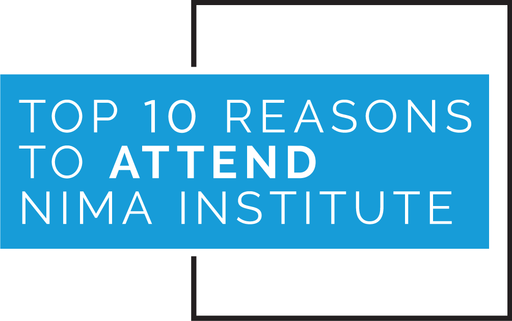 Top 10 Reasons to Attend NIMA Institute